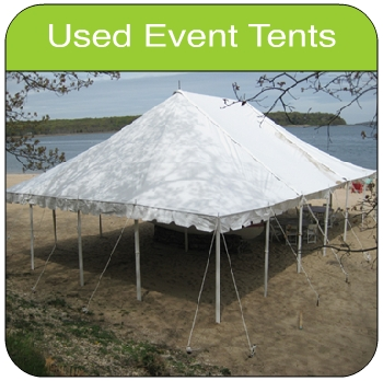 Used Tent ... & Used Frame u0026 Pole Tents for Sale - Island Tent (A Division of Ace ...