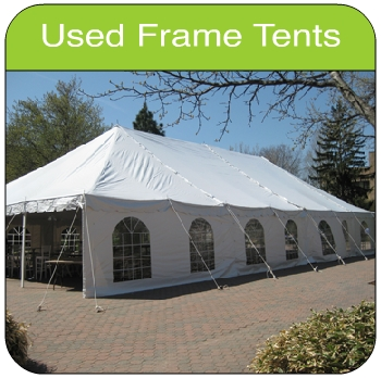 Used Tent ... & Used Frame Tents for Sale - Island Tent (A Division of Ace Canvas ...
